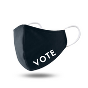 VOTE Unisex Face Mask with Iron On Sticker & Filter Pocket - Thailand-Apparel-Lumily