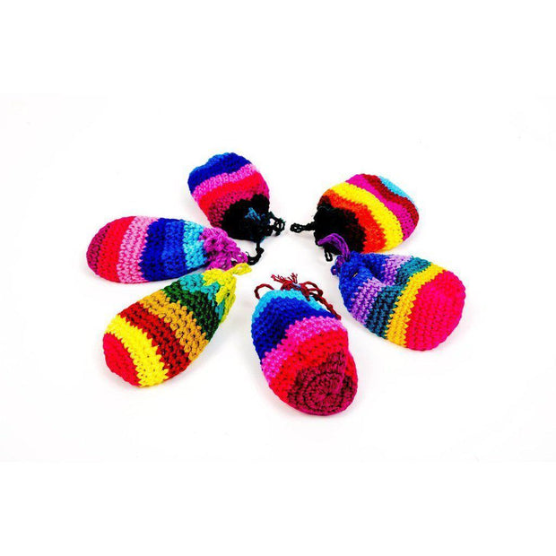 Worry Doll Crochet Pouch - Guatemala-Shop All-Lumily Fair Trade