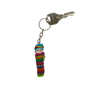 Worry Doll Key Chain - Guatemala-Shop All-Lumily