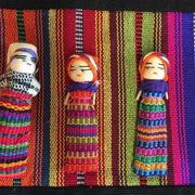 Worry Doll Shoulder Tote - Guatemala-Shop All-Lumily Fair Trade