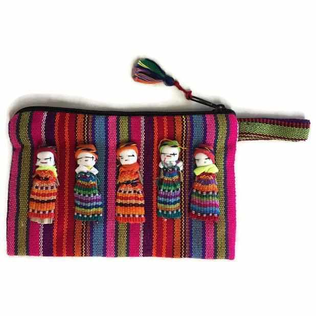 Worry Doll Pouch - Guatemala-Shop All-Lumily Fair Trade