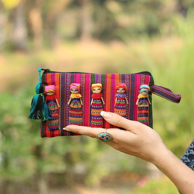 Worry Doll Pouch-Guatemala_BGG152