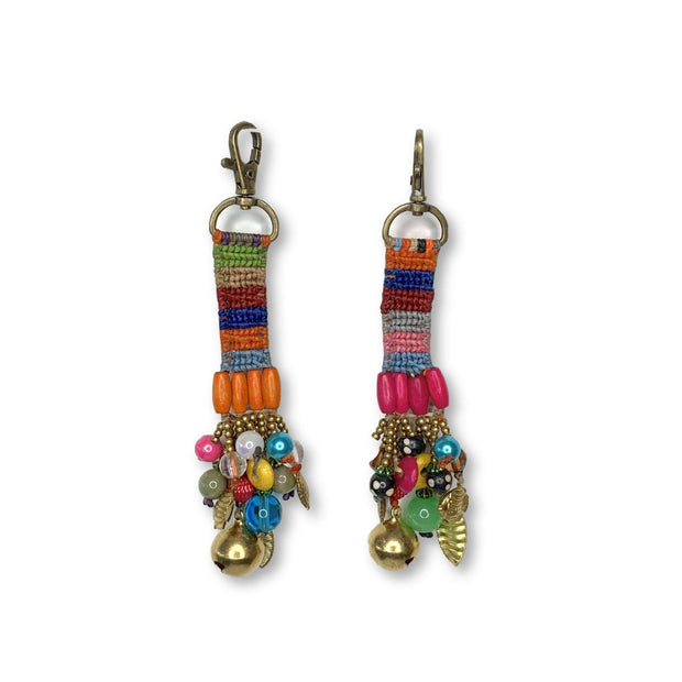 Woven Zipper Pull / Key Chain - Thailand-Accessories-Lumily Fair Trade