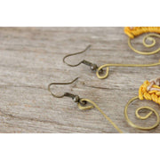 Yellow Symphony Earrings - Thailand-Jewelry-Lumily Fair Trade