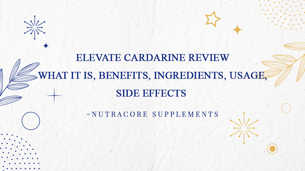 Elevate Cardarine review - what it is, benefits, ingredients, usage, side effects