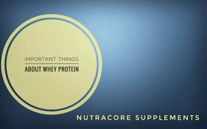 important Things about Whey Protein to Transform your Body Amazingly