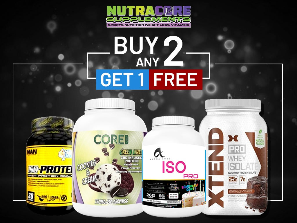 Buy two get one free! on all products!