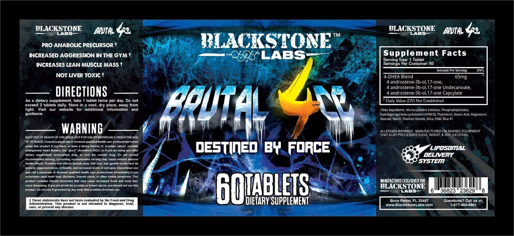 Blackstone Labs: Brutal 4ce 60 caps
