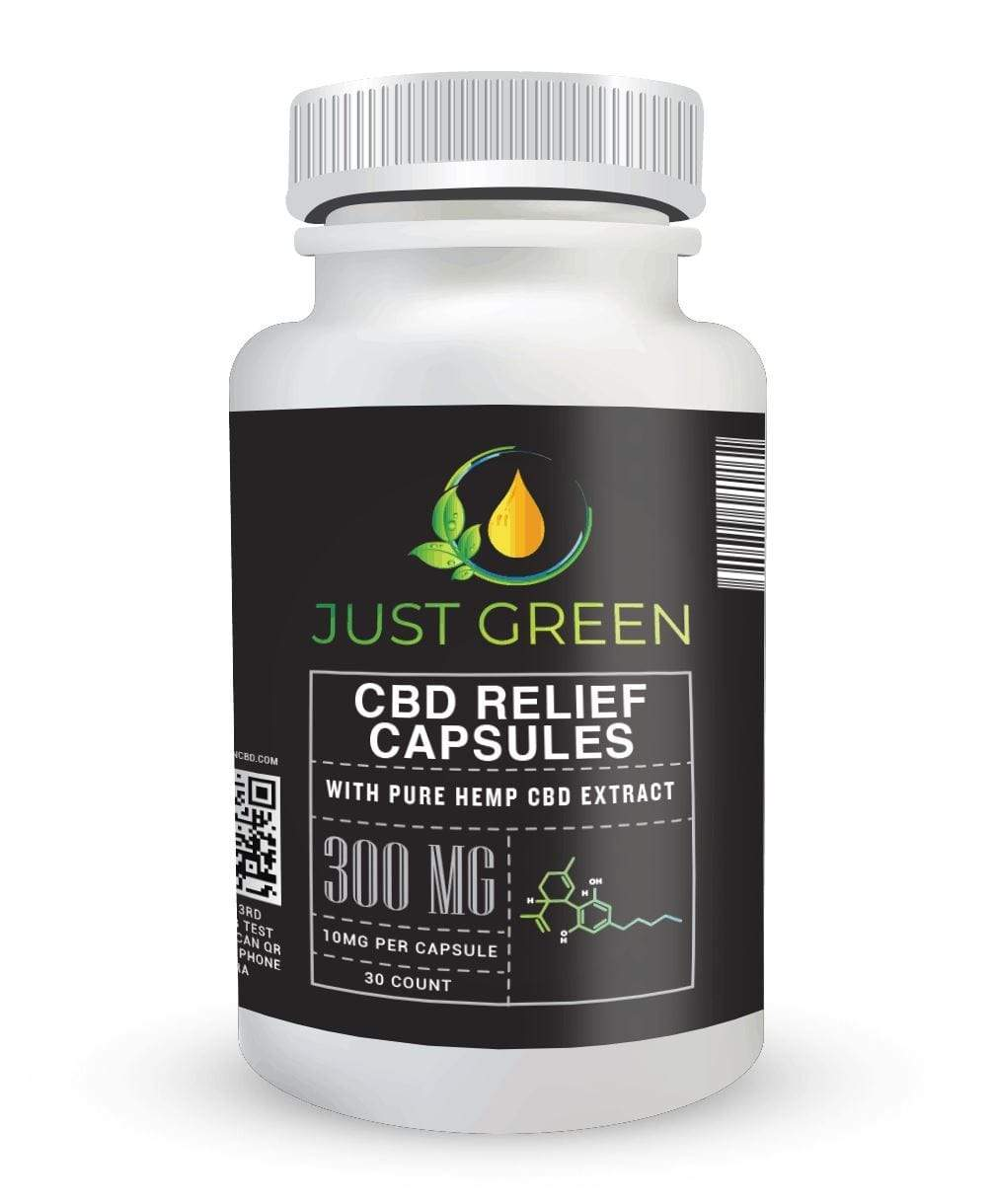 CBD RELIEF CAPSULES 300MG - NutraCore Manalapan - Vitamin & Supplement and CBD Store