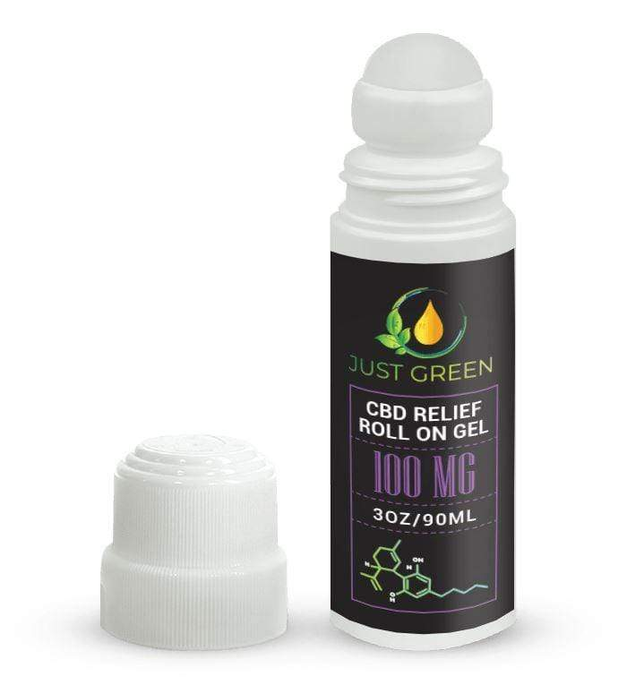 CBD RELIEF ROLL ON GEL 100MG - NutraCore Manalapan - Vitamin & Supplement and CBD Store