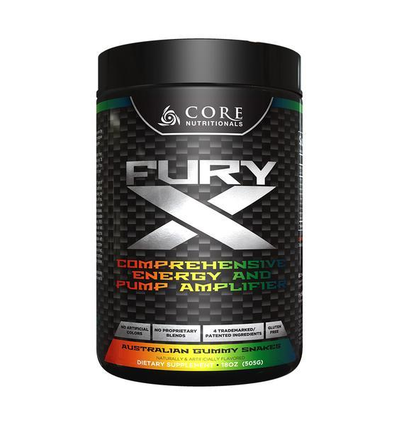 Core Nutritionals : Fury X - NutraCore Manalapan - Vitamin & Supplement and CBD Store