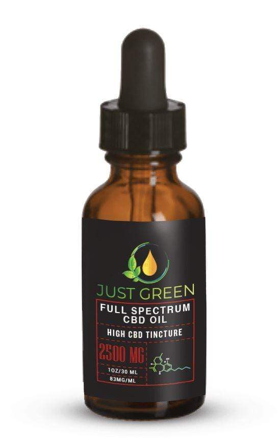 Full Spectrum CBD Oil 2500MG