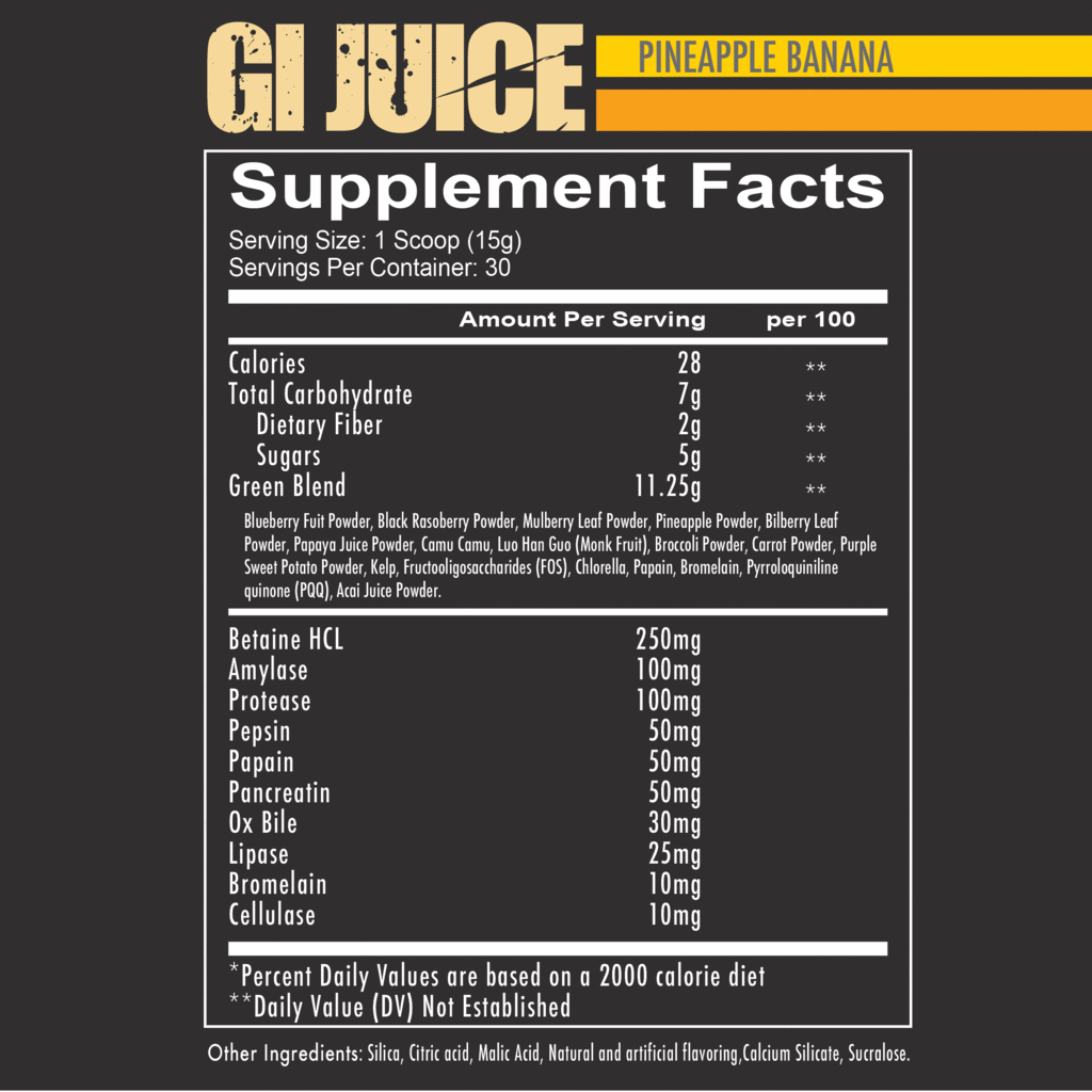 GI Juice - NutraCore Manalapan - Vitamin & Supplement and CBD Store