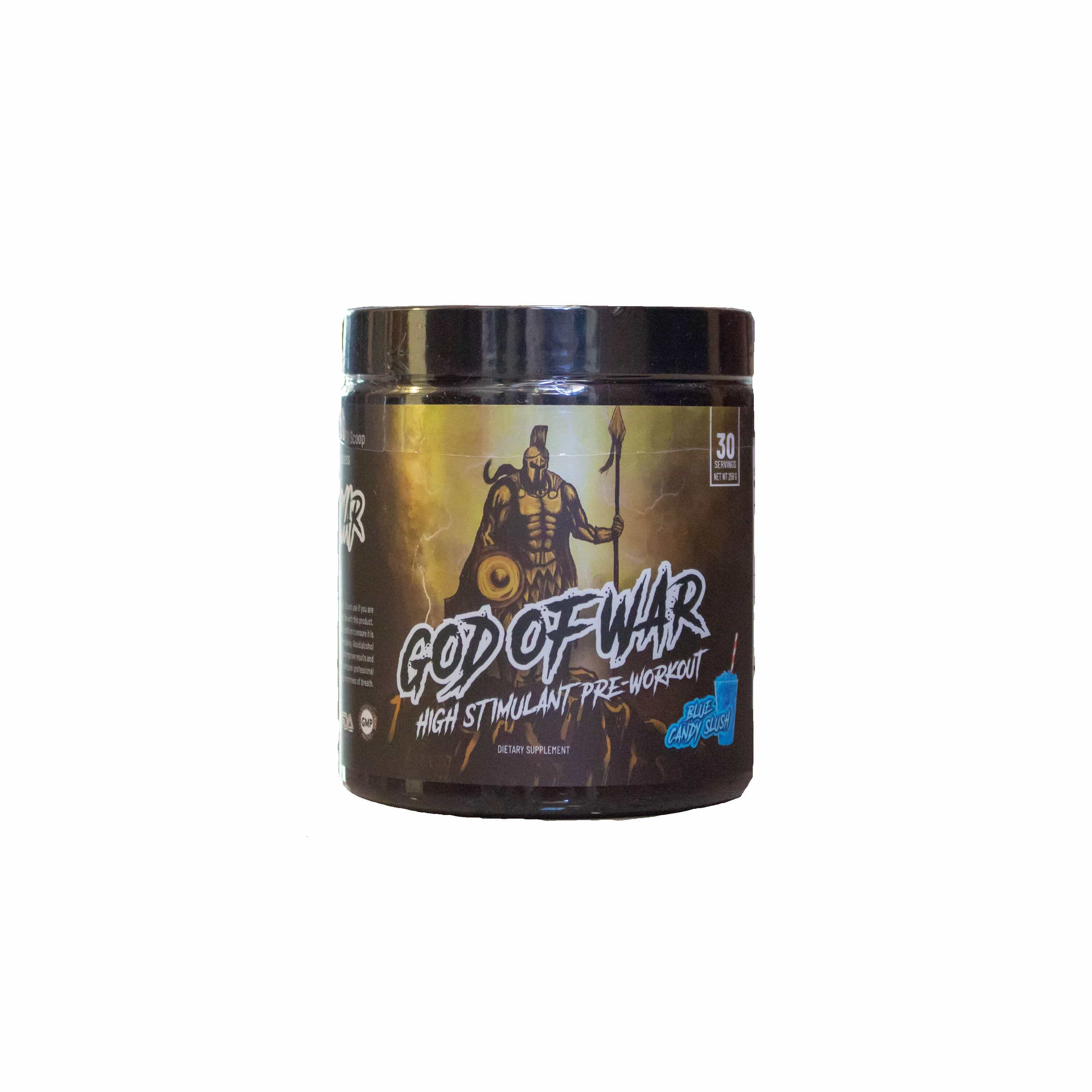 GOD OF WAR PRE-WORKOUT - NutraCore Manalapan - Vitamin & Supplement and CBD Store