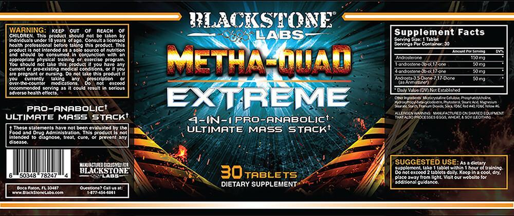 Metha-Quad EXTREME 30 caps - NutraCore Manalapan - Vitamin & Supplement and CBD Store