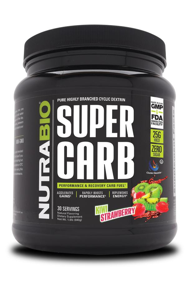 Nutrabio SUPERCARB Post-workout - NutraCore Manalapan - Vitamin & Supplement and CBD Store