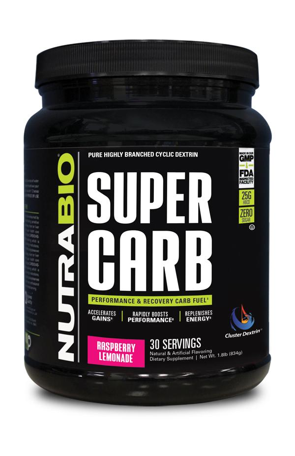 Nutrabio SUPERCARB Post-workout
