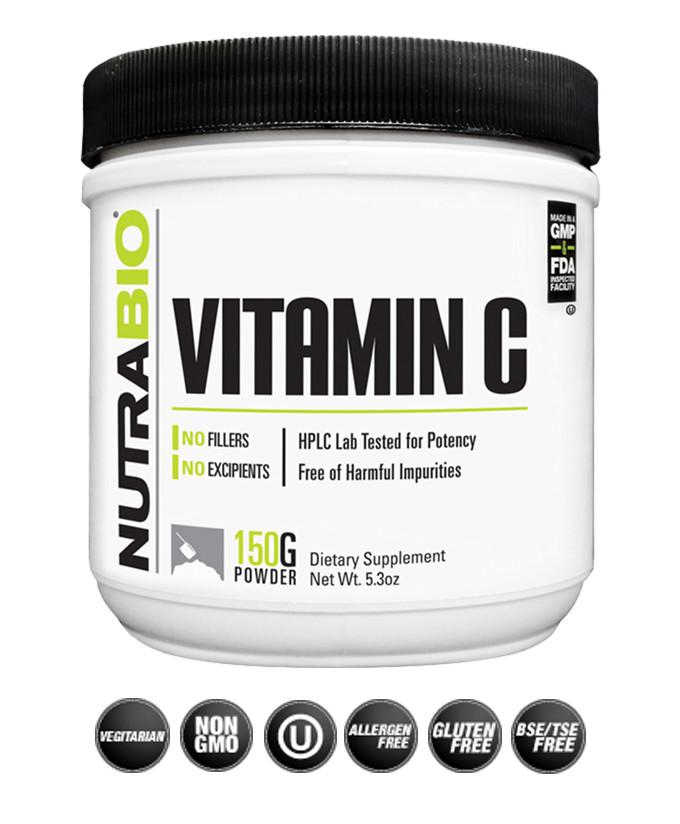 Nutrabio Vitamin C - NutraCore Manalapan - Vitamin & Supplement and CBD Store
