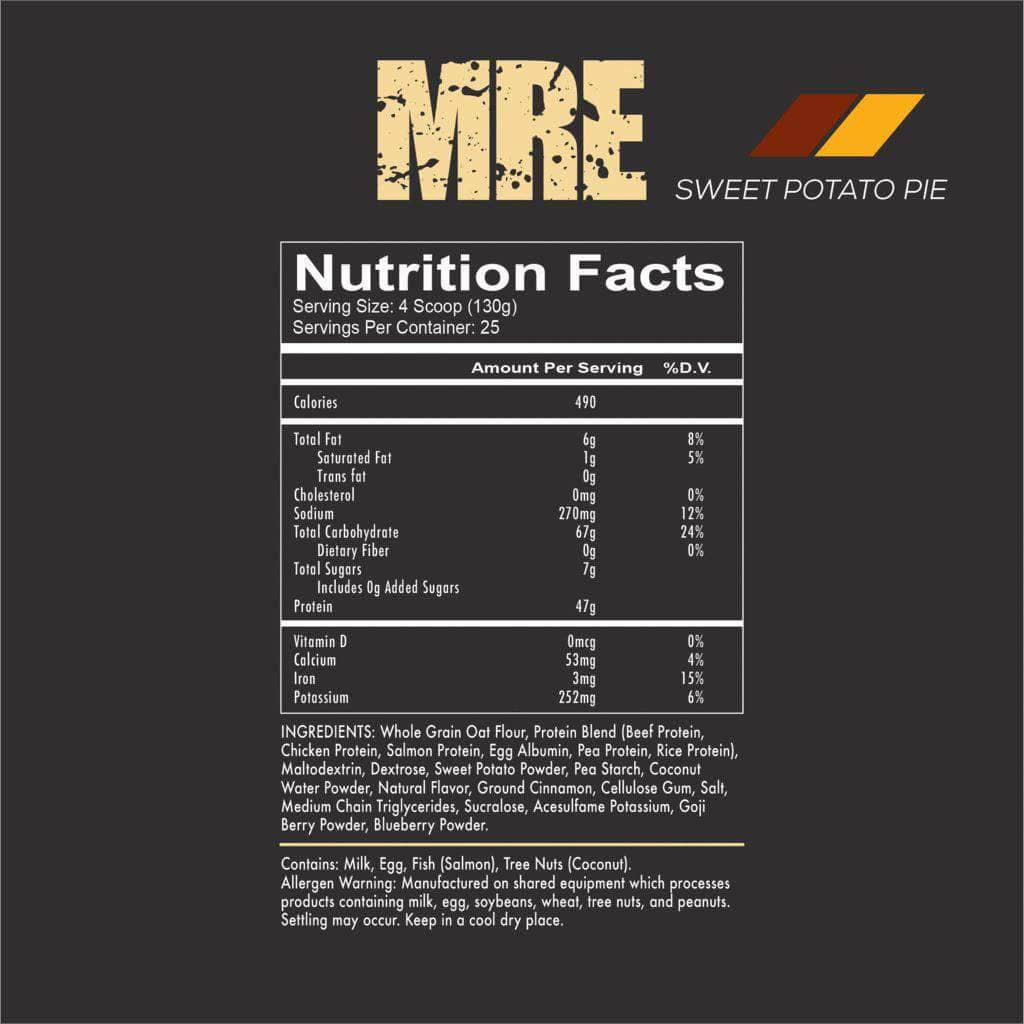 REDCON1 - MRE 7 LB Protein - NutraCore Manalapan - Vitamin & Supplement and CBD Store