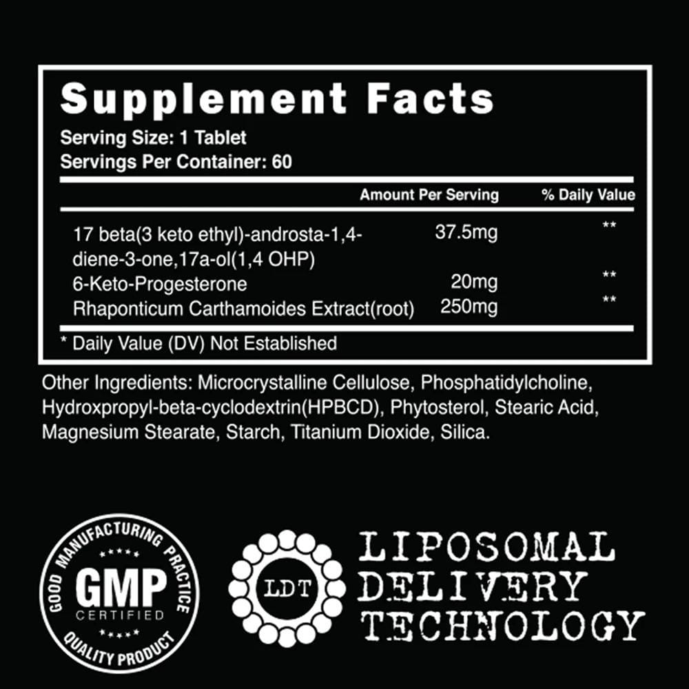 Steel Supplements: 17a-Andro