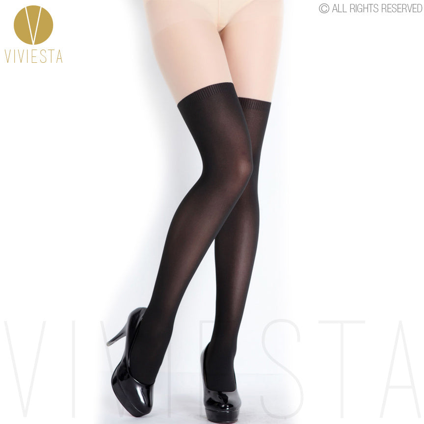 Viviesta Fashion Tights - High Quality High Stretch Mock Thigh Highs