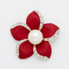 The Florist's Brooch - Anemone - A lovely floral brooch in four vibrant colours.
