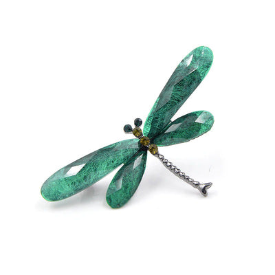 Dragonfly Brooches - Lovely dragonfly themed brooches available in five vibrant colours.