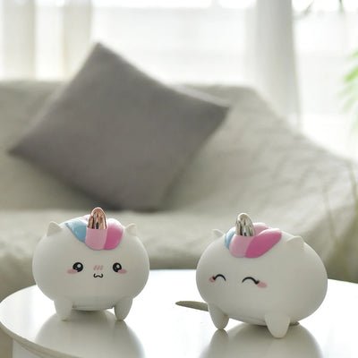 Boopimals - Ulani the Unicorn - An adorable silicon nightlight shaped like a cute, chubby unicorn.