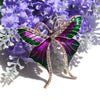 Cute Critters Brooch - Long-Tail Butterfly