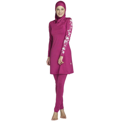The Nalini Swimsuit - A full coverage Islamic swimsuit in lovely vibrant colours.