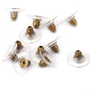 Earring Backs Kit - Bullet Clutch Backs, 100pc Kits