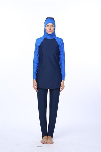 The Amira Swimsuit - A full coverage Islamic swimsuit in lovely vibrant colours.