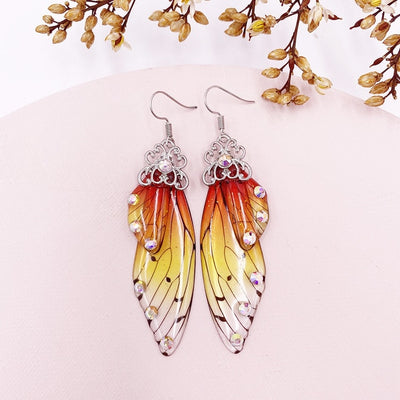 Titania Fairy Wing Earrings