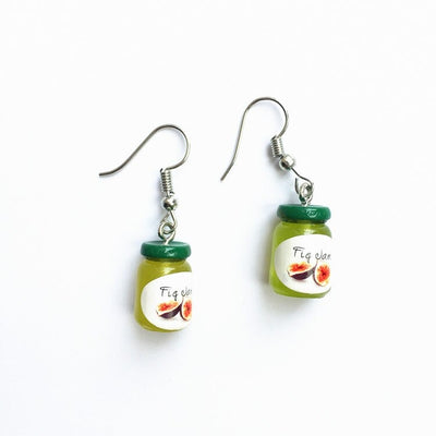 Teenytopia Jimmy Jam Jars Earrings - Cute earrings that look like tiny jars of jam. Adorable!