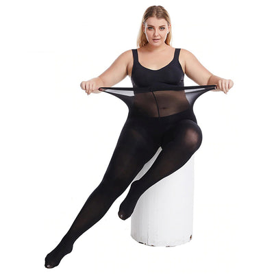 Essentials Queen-Size Ultra-Stretch 60D Opaque Tights