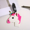 Unicorn Beau Tags - Adorable luggage tags in an assortment of unicorn, pony, and rainbow designs.