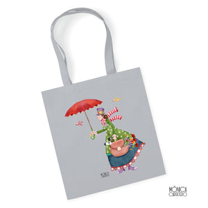 Tote Gris Mary Poppins
