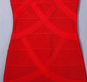 Vivianne luxury floor length bandage dress