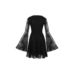 Witchy woman bell sleeve dress