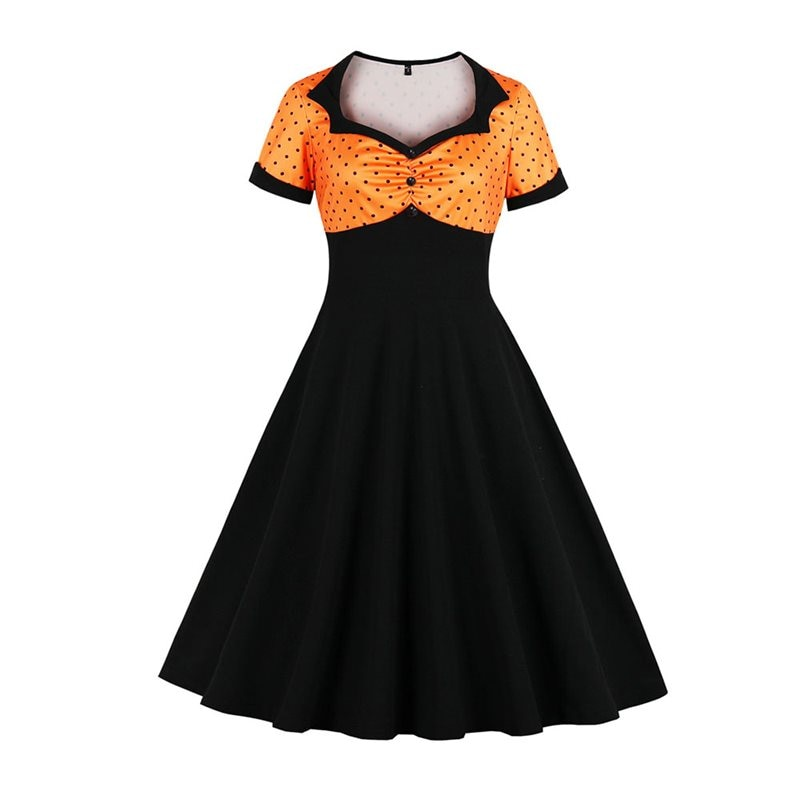 Hallows Eve Vixen vintage style dress
