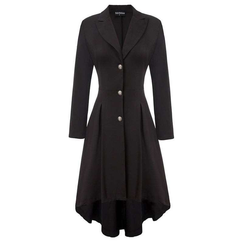 Adeline Fit and flare Vintage style Dress Coat