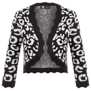 Lucy Cropped Printed 3/4 Sleeve Bolero