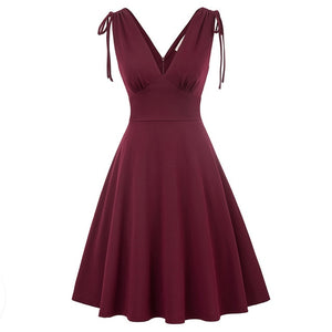 Keily Vintage Style Fit and Flare Dress