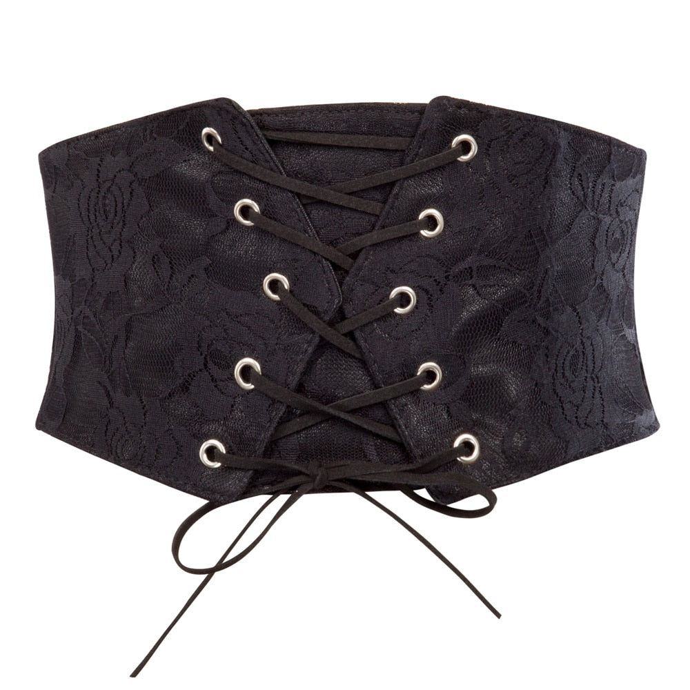 Waist Cincher Brocade Belt