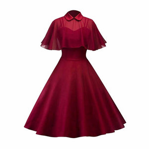 Grimm Cape Dress