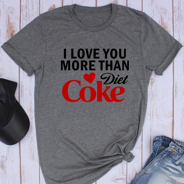 Love You More Shirt Valentine/'s Day Shirt Red Love Shirt