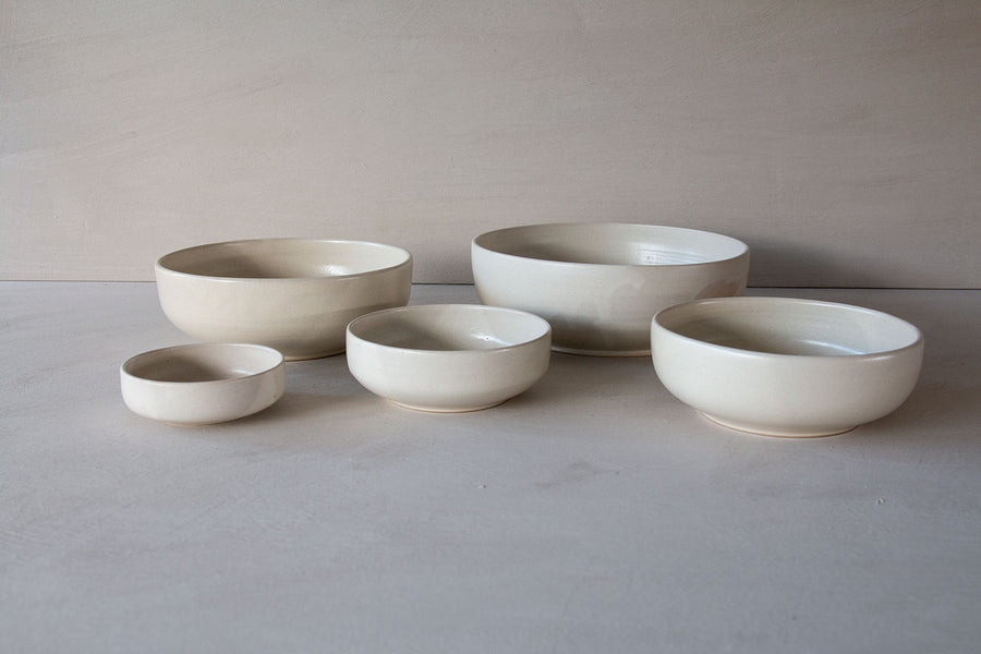 Pino Bowl beige in XS