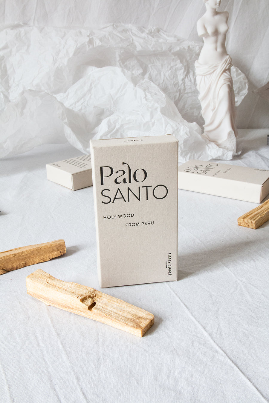 Palo Santo Box mit Smudge Bowl