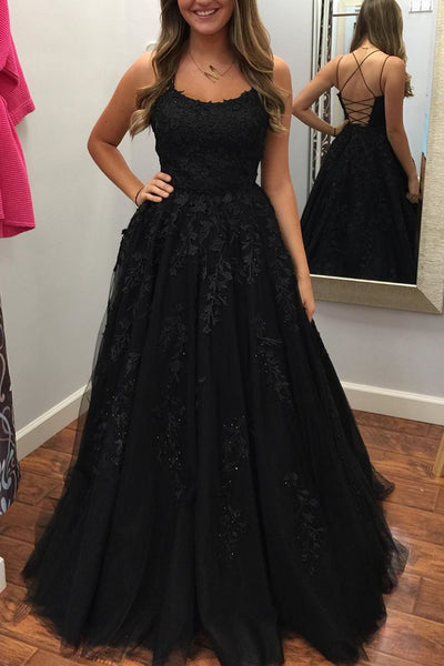 Black Prom Dress Long, Prom Dresses, Evening Dress, Dance Dress, Graduation School Party Gown, PC0378 - Promcoming