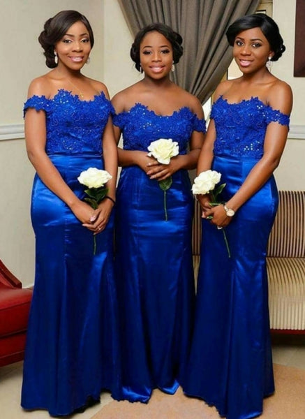 Royal Blue Bridesmaid Dresses, Bridesmaid Dress, Wedding Party Dress, Dresses For Wedding, NB0031 - Promcoming